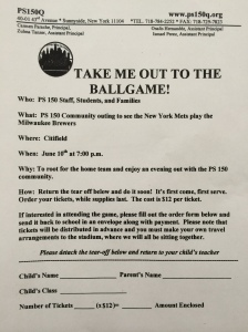 Ballgame Flyer