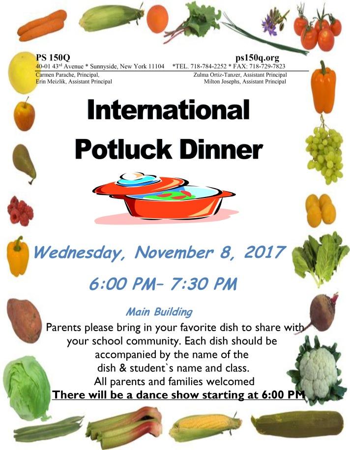 Potluck Dinner 2017 FINAL
